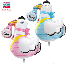 Lovely baby shower ballons Grane baby boy baby girl helium foil balloons inflatable birthday party decorations kids toys 1pc