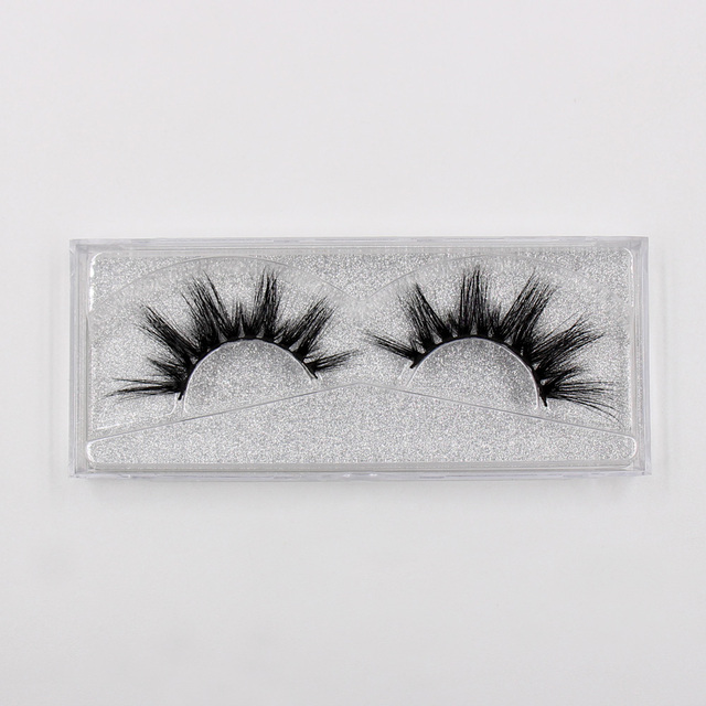 LEHUAMAO Eyelashes 3D Mink Eyelashes Criss-cross Strands Cruelty Free High Volume Mink Lashes Soft Dramatic Eye lashes E1 Makeup 3