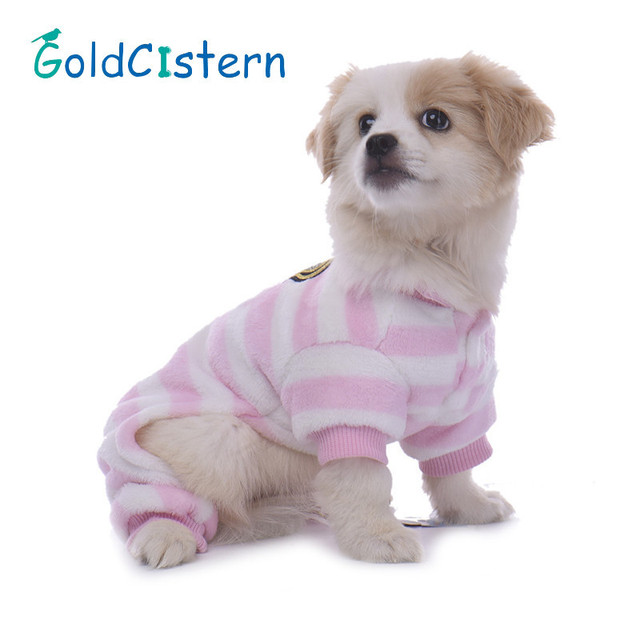 Mascota gato perro ropa de cuatro Pies Monos pijamas suéter para ...