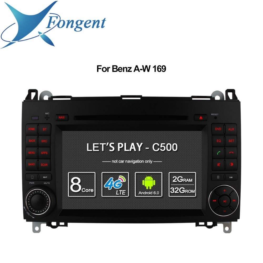 Fü<font><b>r</b></font> Mercedes Benz A-klasse W169 Sprinter W209 <font><b>Crafter</b></font> Viano Vito LT3 W245 MB Auto Multimedia Radio DVD Player GPS Stereo Android image
