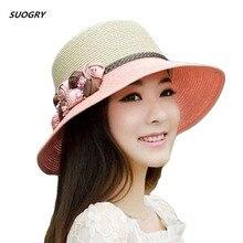 лучшая цена Witery Women Ladies Summer Sun Hat Wide Brim Sun Hats Beach Hat Sun Visor Cloche UPF50+ Cap Full UV Protection For Women Girl