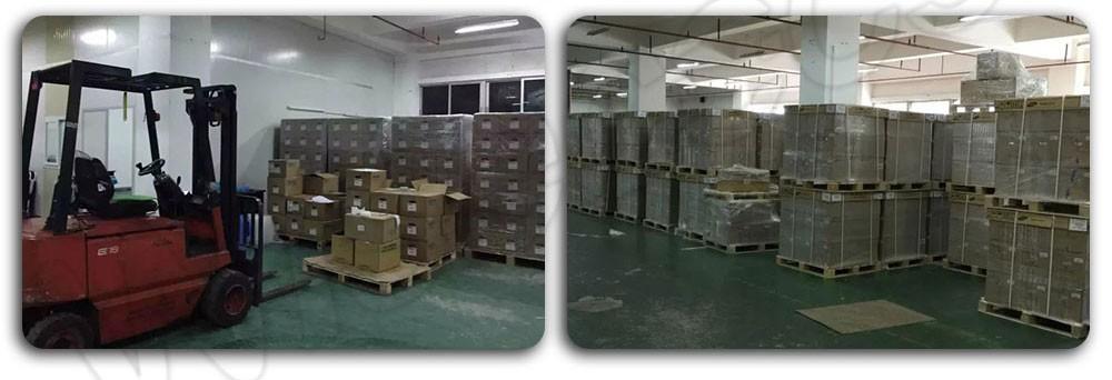 large stock