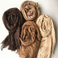 Hot sale print Oversize Plain winter pashmina Muslim hijab scarf woman gorgeous bandana silk scarf Free Shipping Independen pack