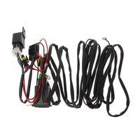 Universal 12V 40A Relais Kabelbaum Mit Auf/Off Schalter Kit Für Auto LED Nebel Licht M77-in Draht aus Kraftfahrzeuge und Motorräder bei
