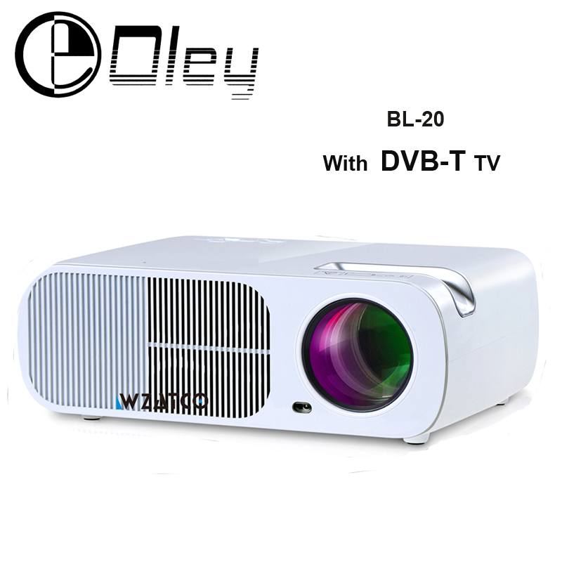 OLEY BL-20 DVB-T TV Home Theater Portable HDMI LCD LED Video digital Projector hd 1080P Proyector Projetor Projektor Beamer