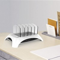 5 Ports Usb Desk Charging Dock 2.4a Travel Fast Charger Hub For Ipod For Iphone High Efficient And Practical