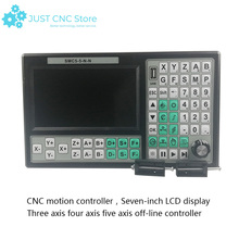 CNC controller instead of Mach 3 USB control  Motion  card Offline control 5 Axis 500KHz 7inch Screen 3d printing Wood machine 4 axis plc controller 500khz off line