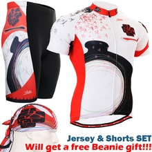 Life on Track 2017 Summer Short Sleeve Cycling Jersey set Mountain Bicycle Wear Racing Bike Clothing Ropa Conjunto Ciclismo
