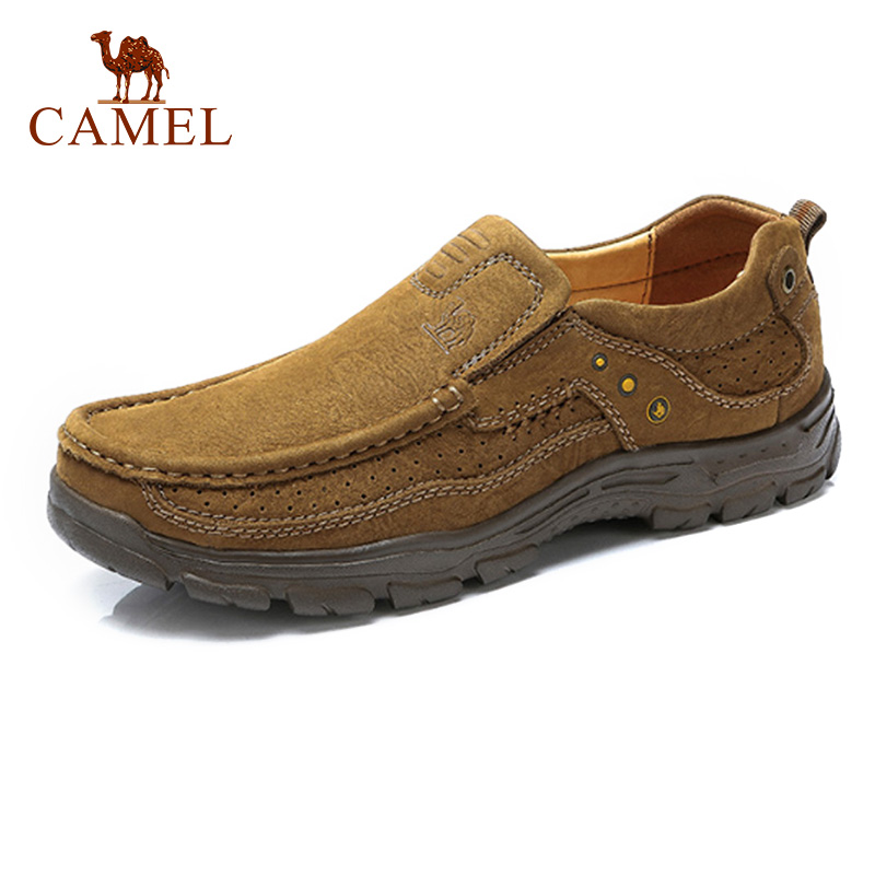 CAMEL Men s Casual Shoes Fashion Outdoor Leisure Set Foot Genuine Leather Cushioning Lightweight Spring AutumnTravel