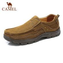 Верблюд Для мужчин; повседневная обувь модные уличные для отдыха комплект из натуральной кожи амортизацию легкая весенняя AutumnTravel обувь
