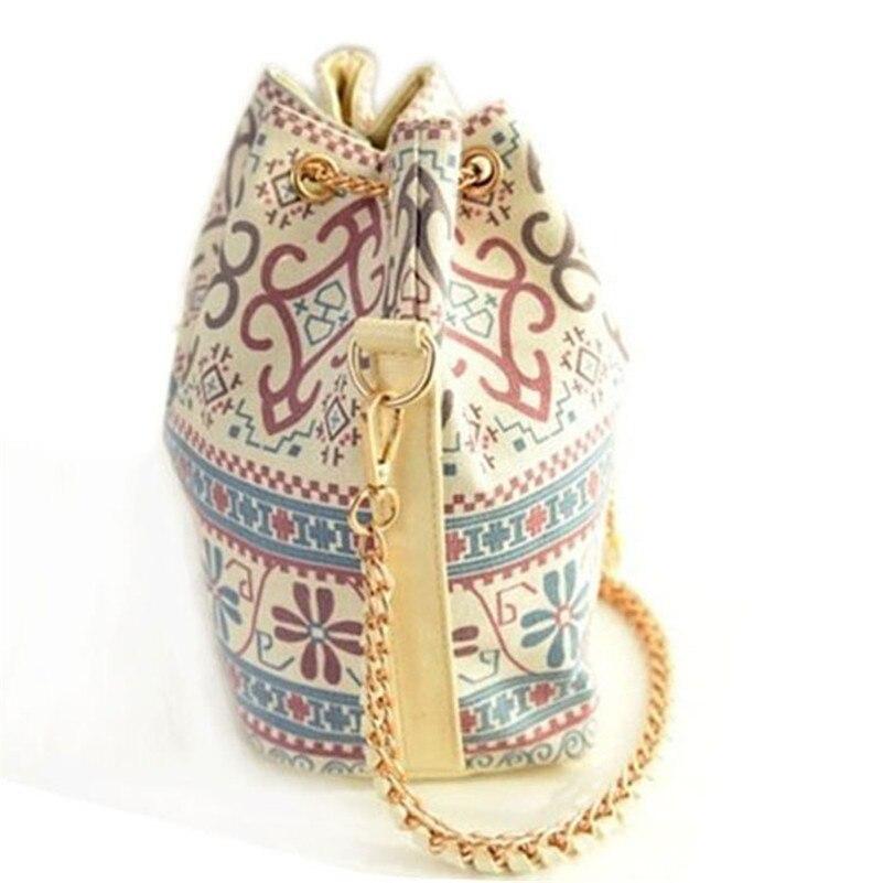 Design1pc Floral Shoulder Bag Cross Body Bag Bucket Bag Satchel Handbag Bolsa Sac A8