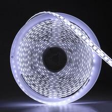5M 600 LED 5054 LED Strip Light wodoodporny/niewodoodporny taśma wstążkowa DC12V jaśniejszy niż 5050 zimny biały/ciepły biały/lodowy blękit