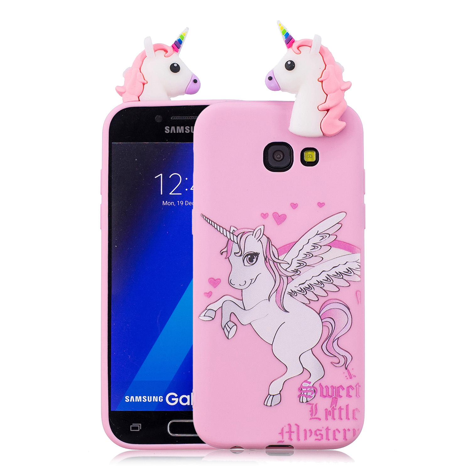 Lovely Cartoon Squishy Phone Cases for samsung galaxy A5 2017 Case Cute Smiling Cloud Soft Silicone stress relief ...