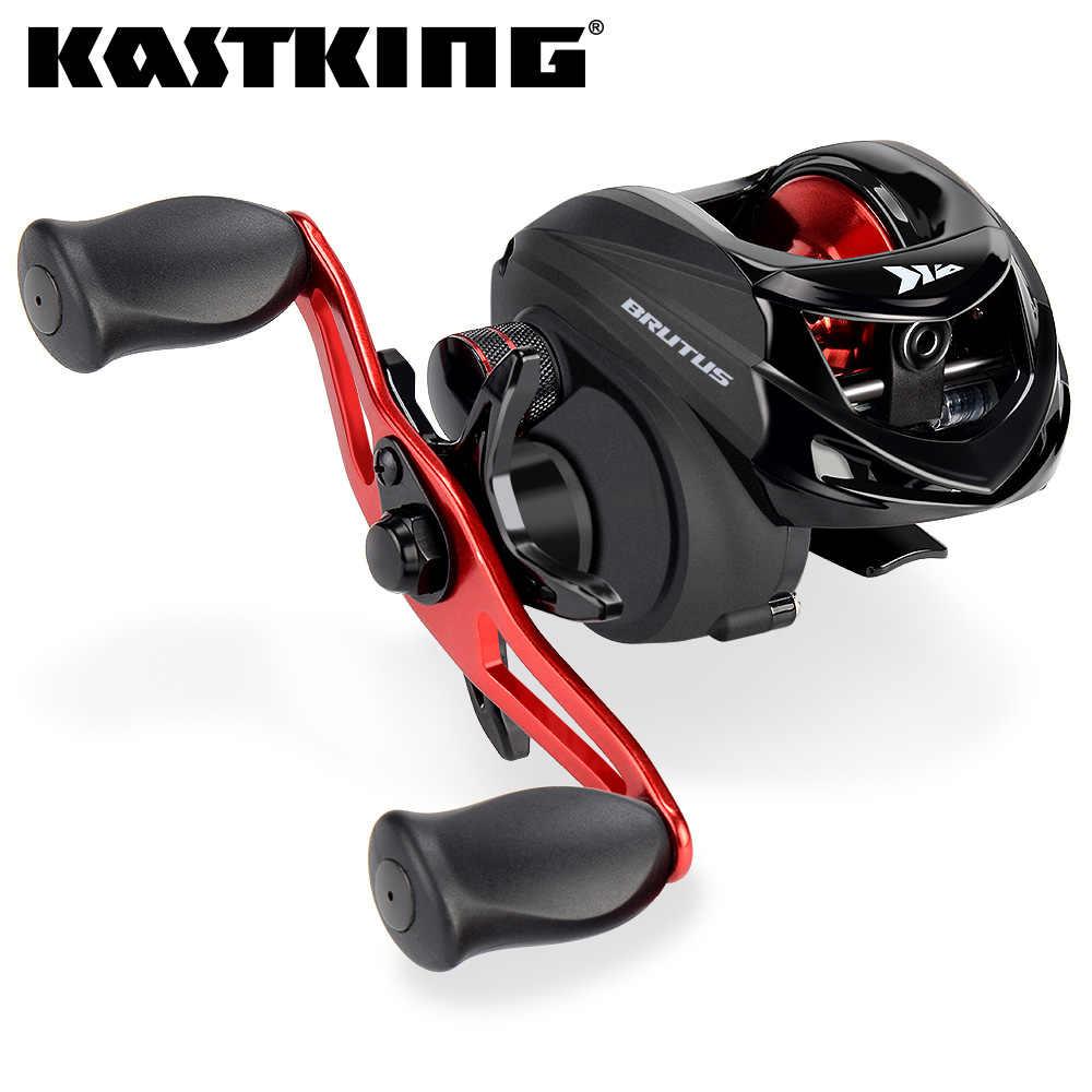 KastKing Brutus Baitcasting moulinet de pêche 6.3: 1 rapport de vitesse 4 + 1 roulements à billes 6KG cadre en Graphite de traînée poignée en aluminium bobine de pêche