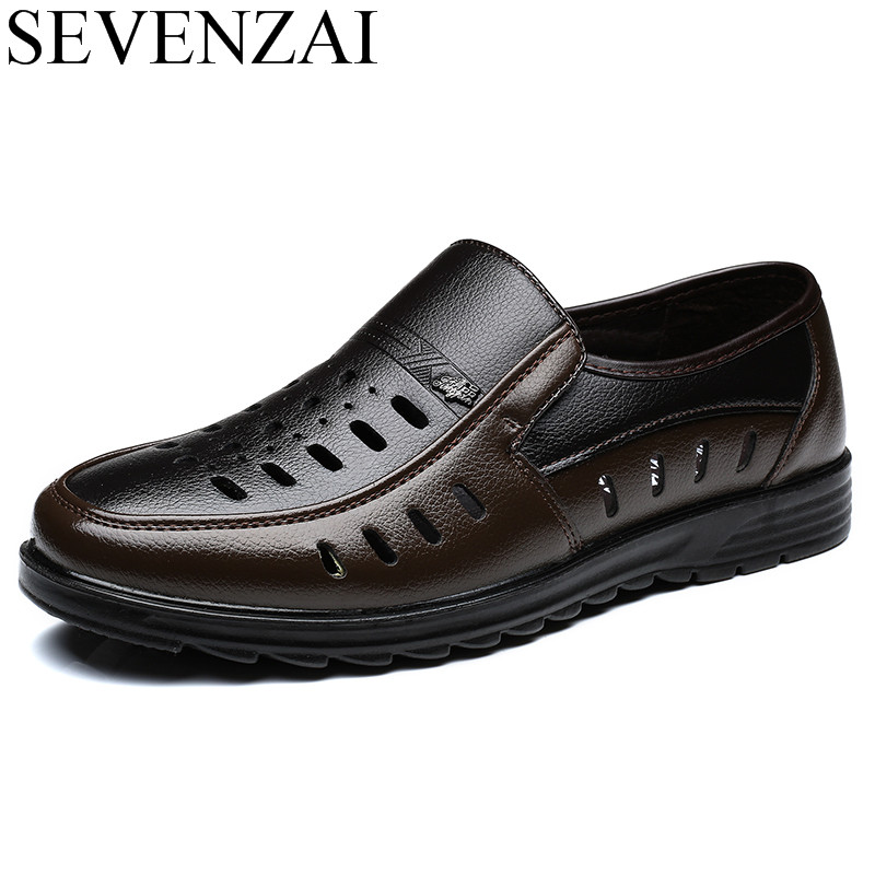 male footwear 2017 ballet flats breathable summer loafer hollow cool men's dress shoes leather luxury brand oxford shoes for men vikeduo brand 2017 fashion top real leather hollow breathable men shoes leisure casual lace shoes summer spring white footwear