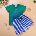 Baby Boy Clothing Set Summer Children Girls Sport Suits Children's Clothing Sets For Kids Cotton T-Shirt+Pant Fantasias Infantil