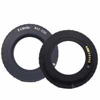 Foleto Électronique AF Confirm M42 Adaptateur D'objectif pour Canon EOS 5D 7D 60D 50D 40D 500D 550D 600D Rebelles T2i T3i 1100D (M42-E0S)