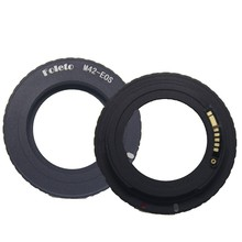 Foleto Electronic AF Confirm M42 Mount Lens Adapter for Canon EOS 5D 7D 60D 50D 40D 500D 550D 600D Rebel T2i T3i 1100D (M42-E0S) кольцо fujimi adapter canon eos m42 fjar 42eos 478