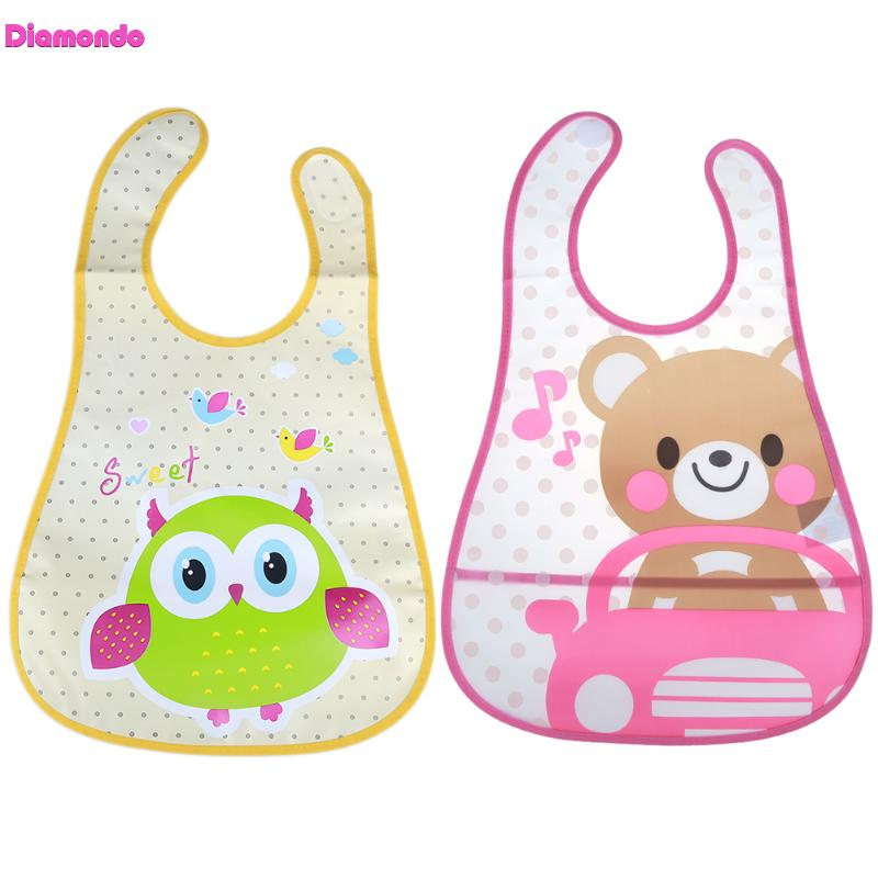 Recém-nascidos Meninos Meninas Bibs Pano Burp Encantador Dos - Roupas de bebê