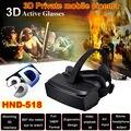 """HMD-518 80 """"1080 P 3D Видео Очки Виртуальной Реальности VR HD Личное Мобильного Кино"""