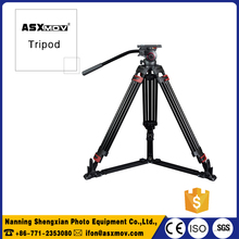 new professional video tripod aluminum 173cm flexible tripod portable tripod stand for dslr camera digital camera 25kg payload