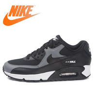 Original NIKE WMNS AIR MAX 90 Women's Running Shoes Sneakers Breathable Nike Shoes Women Low Top Cushioning Comfortable 325213