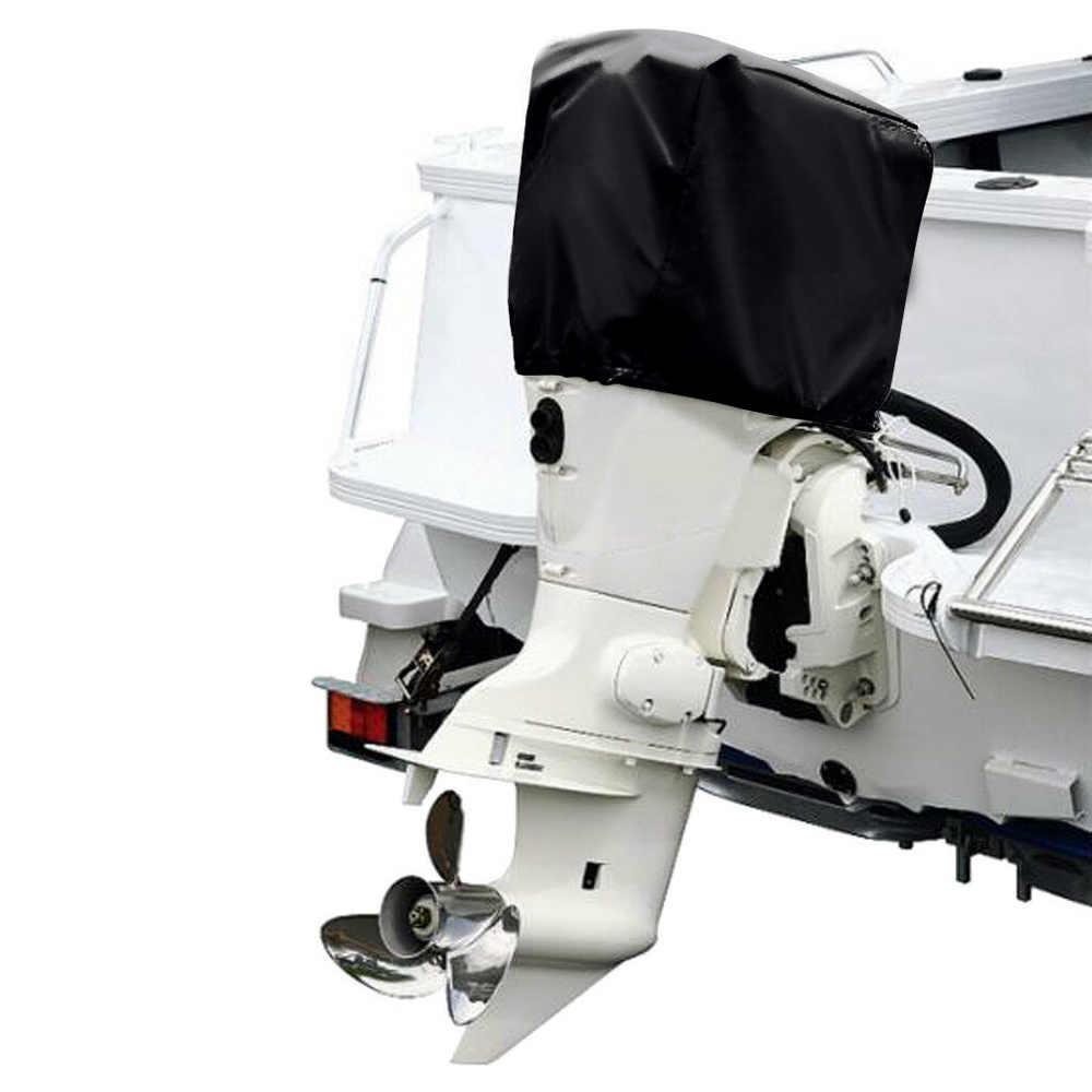 210D Oxford Tahan Air Hujan Bukti Universal Perahu 15 30 60 100 150 175 250 Ph Motor Cover Mesin Tempel Pelindung mencakup D49