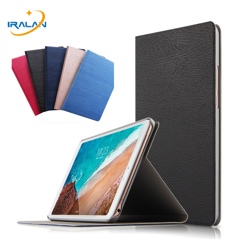 New Wood grain PU Leather Stand Case For Xiaomi MiPad 4 Plus Mi Pad 4 pad4 Plus 10.1 2018 Magnet Smart Cover+Screen Film+Stylus 3 in 1 top quality pu leather case cover for asus memo pad 8 me181c me181 k011 screen film stylus and