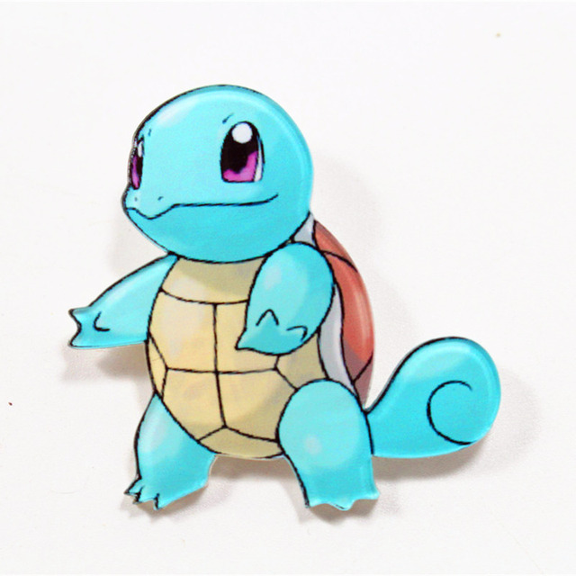 Acrylic Pokemon Brooch Pin