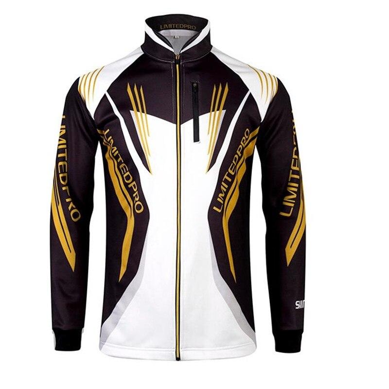 zíper camisa de pesca para caminhadas ciclismo roupas de pesca
