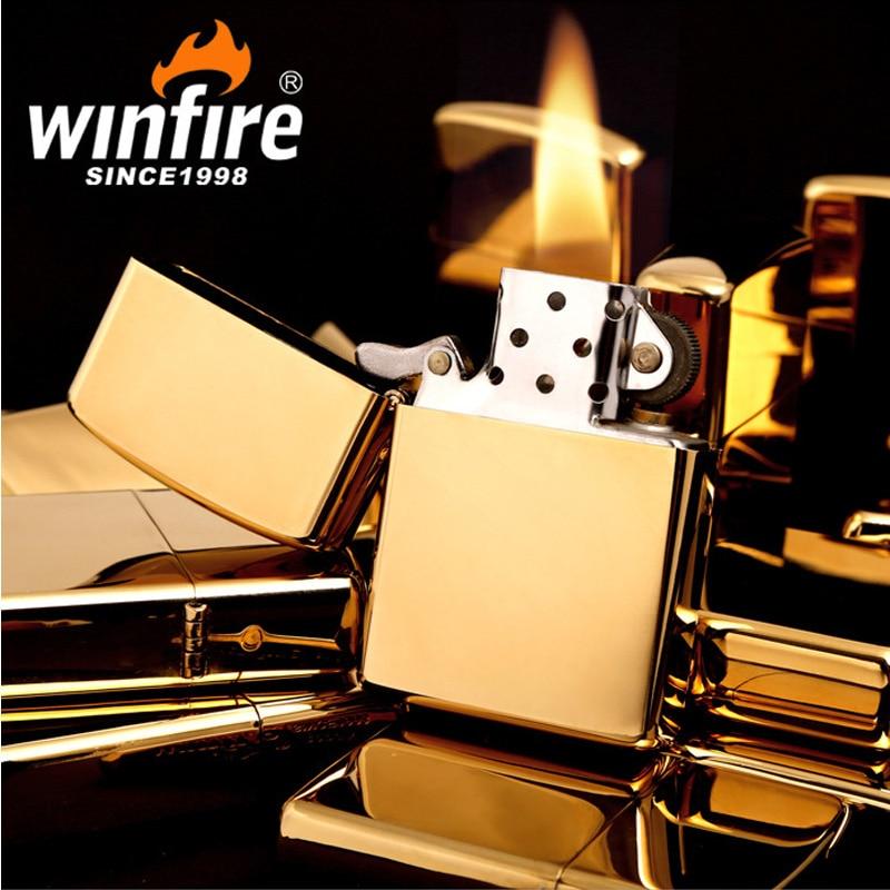 2017 Fashion Oil Metal Kerosene Lighter Fire Mirror Gasoline Windproof Refillable Cigarette Lighter Man Gadgets Best gift