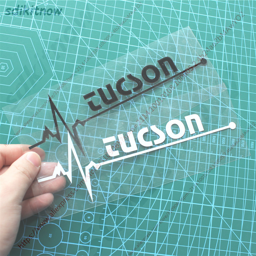 New Heart Car Decal Sticker Styling Windows Door Decoration For Hyundai Tucson 2005 2006 2007 2008 2016 2017 2018 Accessories