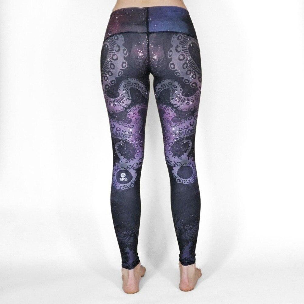 Prix pour Formation yoga pantalons femmes fitness imprimé sport leggings filles collants running femmes gymnase de sport sexy de compression pantalon a0366