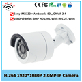 Ambarella 2MP IP Camera Outdoor Bullet IP Camera for Security Waterproof CCTV Surveillance Full HD 1080P