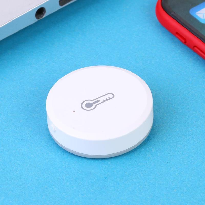 Works with Amazon Google Home Assistant Wireless WiFi Siren Temperature  Humidity Alarm Sensor
