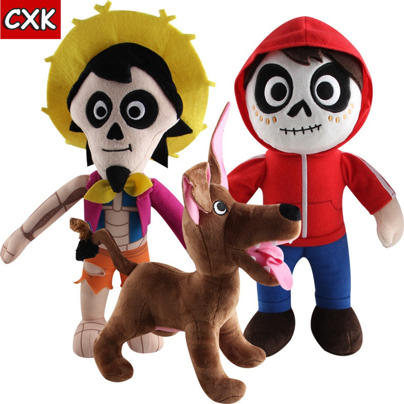 Disneying Coco Movie Anime Decoration Plush Toy Day of The Miguel Hector Dante Dog Death Pepita Stuffed Soft Plush Toys ChildrenDisneying Coco Movie Anime Decoration Plush Toy Day of The Miguel Hector Dante Dog Death Pepita Stuffed Soft Plush Toys Children
