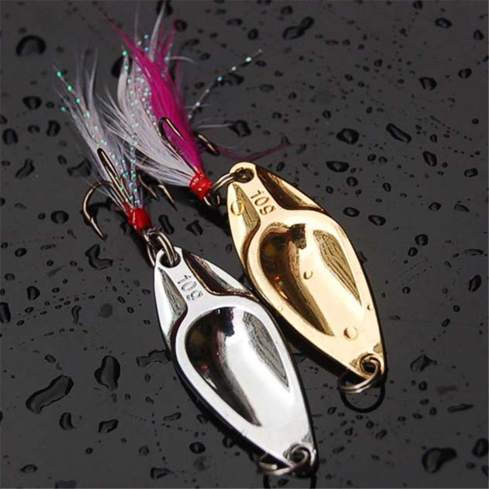 1PCS Fishing Lure 5g 10g 15g 20g Shine Metal Treble Peche Long Shot Hard Lure Wobbler Carp Fishing Tackle Spinner Bait цены