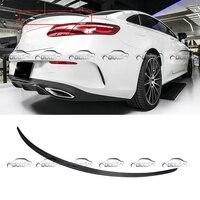 AMG Стиль углеродное волокно задний багажник спойлер для Mercedes Benz E Class Coupe W238 стайлинга автомобилей