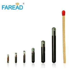 Image 4 - 1.4x8mm/2.12x12mm/3.13x13mm IP68 EM typ szklane znaczniki transpondery RFID 125KHz chip niska częstotliwość UID/ID64/Manchester/Unique/64bit