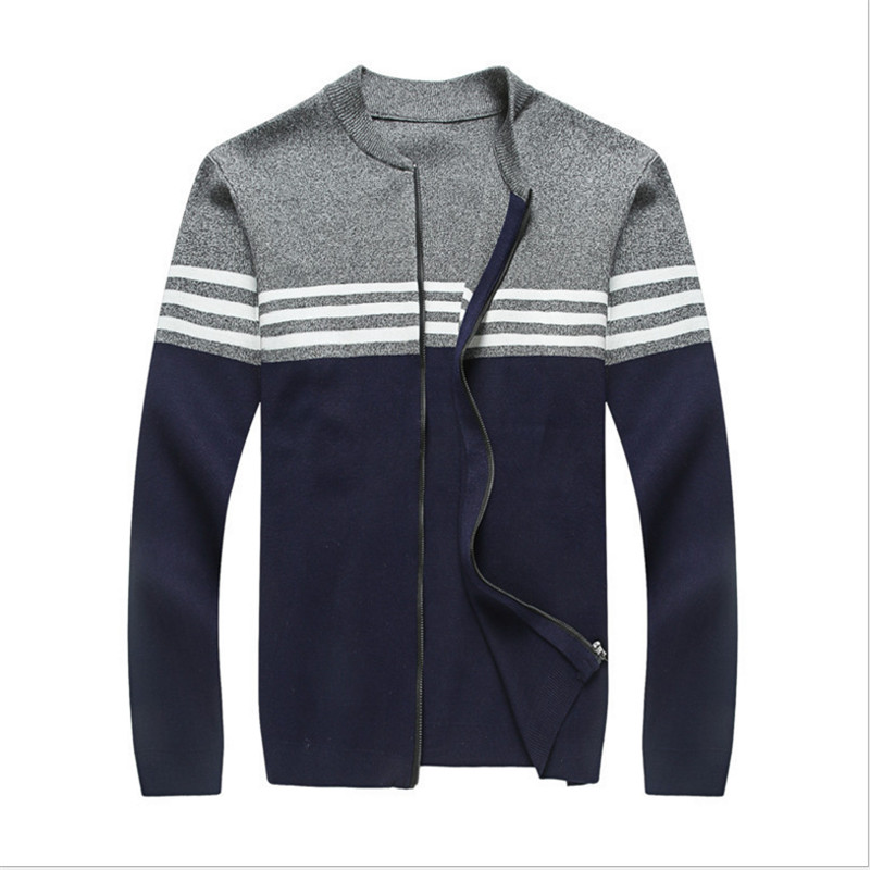 2017 new arrival Cardigan winter super Large Sweater Stand collar high qualtiy Mens fashion autumn plus size 3XL- 5XL 6XL7XL d13