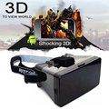 Цена по прейскуранту завода! универсальный VR Виртуальная Реальность 3D Видео Очки для 3.5 до 5.6 дюймов Телефоны Google Картон Кино LH9