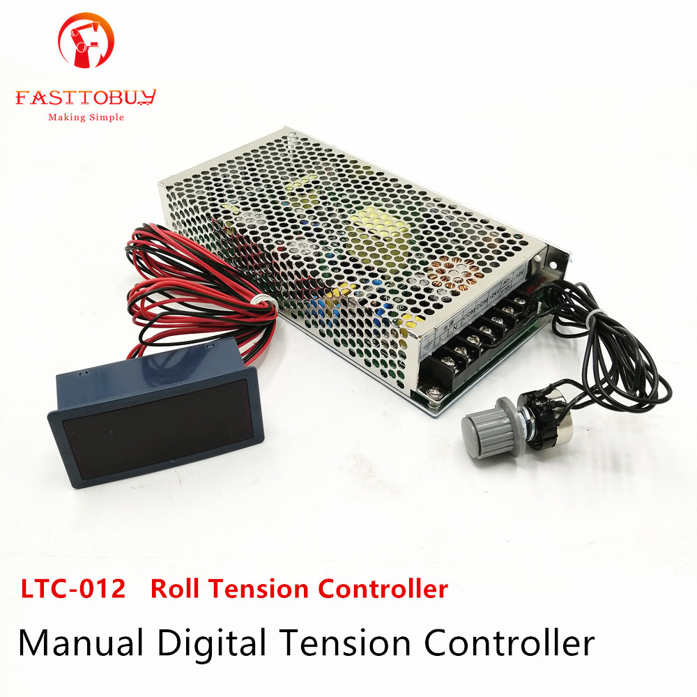 Manual 165 264VAC Digital Tension Controller Output 24VDC for Leather Industry and other machine One year