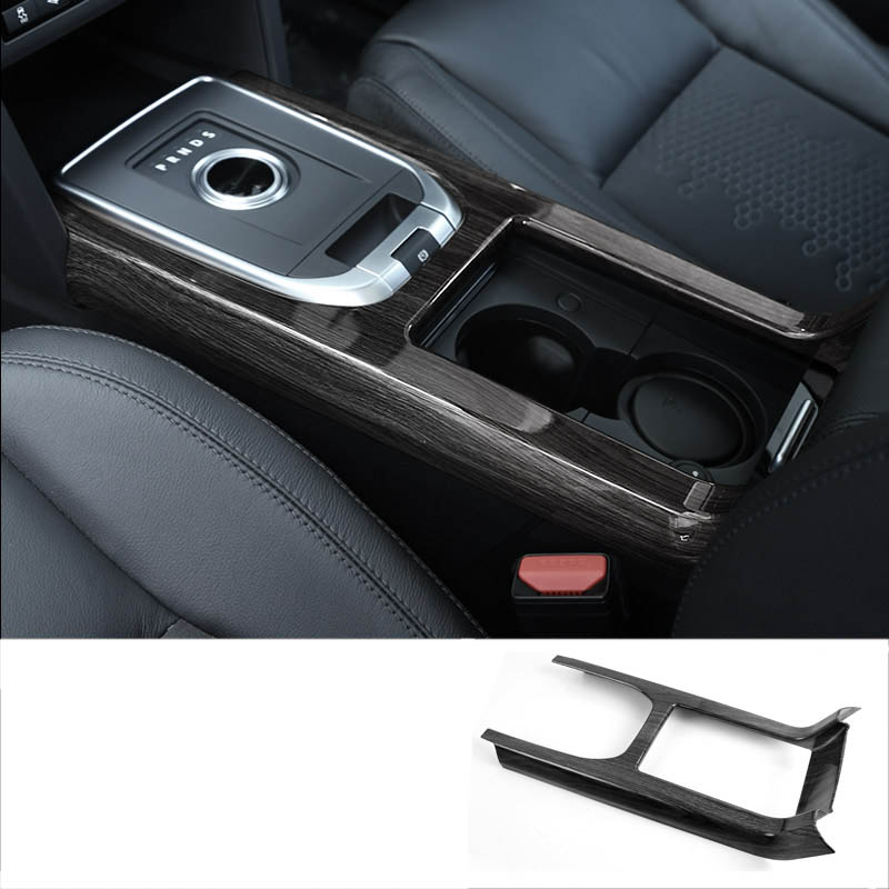1PCS ABS Red Interior Console Gear Panel Cover Trim For Jeep Cherokee 2019+