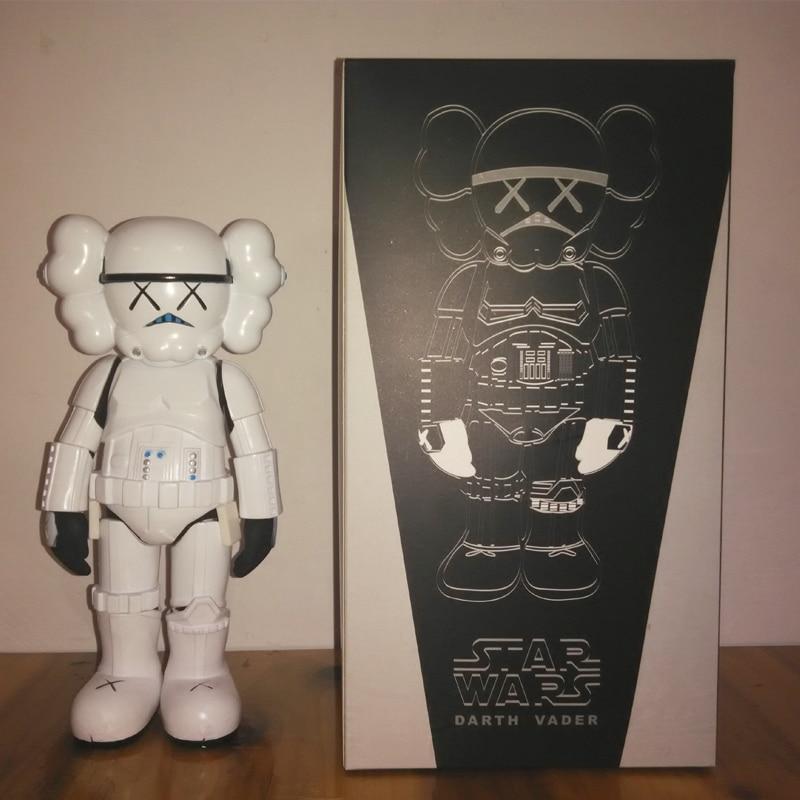 Limited Version Originalfake Kaws Star War Stormtrooper 25cm Action Figure W Original Box