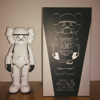 Limited Version Originalfake Kaws Star War Stormtrooper 25cm Action Figure W/ Original Box