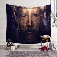 Гобелены с Буддой настенный большой Мандала слон Гобелен Мандала Декор одеяло коврик для йоги коврик s Пляж 150x130