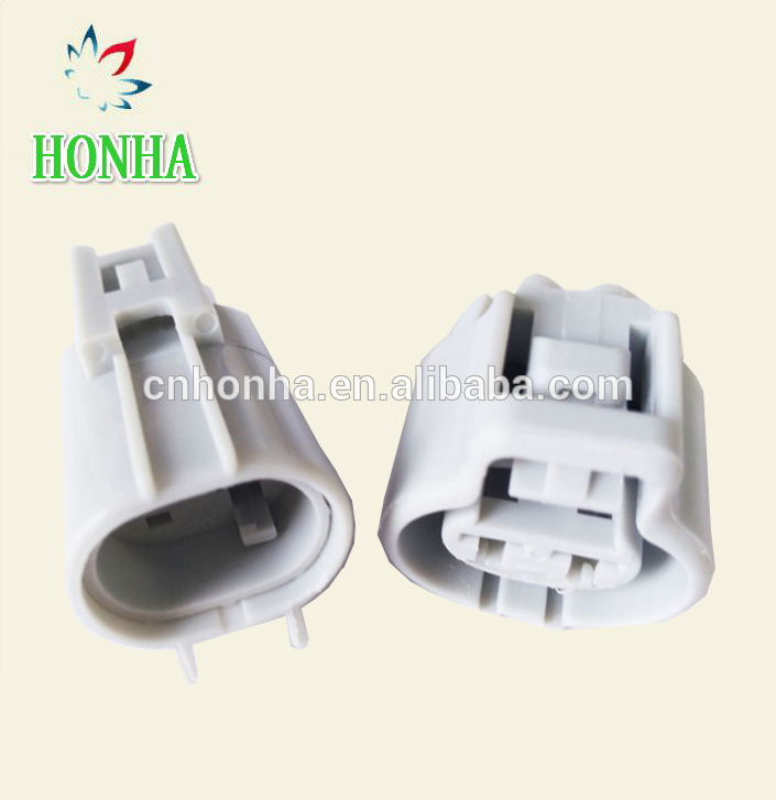 2pin 4.8mm Electronic fan connector plug auto waterproof plug for Toyota RAV4 Mazda buick excelle for Ford focu