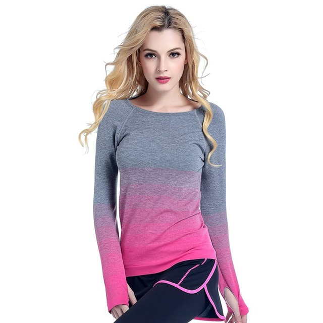 5595d090898 Women s Breathable Compression Long Sleeve T-Shirts Spring Autumn T Shirt  Undershirt Women Tees Tops