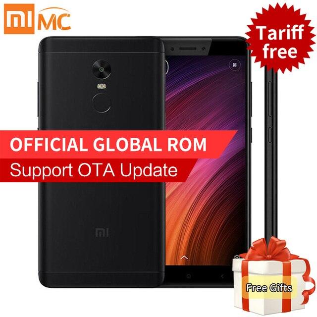 "Original Xiaomi Redmi Note 4X 3GB 32GB Smartphone Snapdragon 625 Octa Core 5.5"" FHD 13MP Camera 4G FDD LTE MIUI 8.1 Fingerprint"