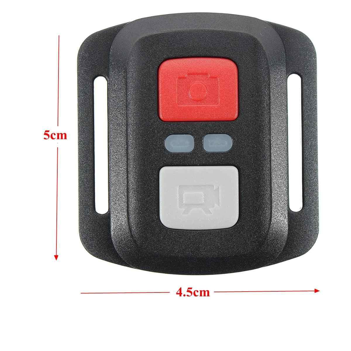 Soporte Negro de plástico de Control remoto 2,4G para EKEN H9/H9R/H3R/H8/H8R accesorios de Cámara de Acción deportiva a prueba de agua